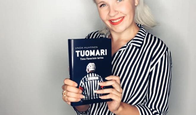Kirjailija ja radiojuontajan Linda Huhtisen haastattelu
